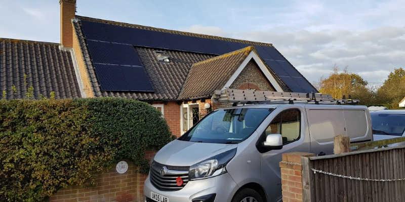 UK Solar Generation